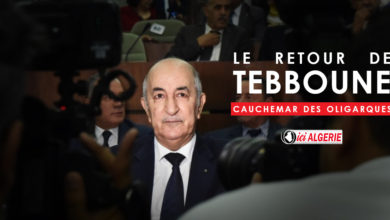 Photo of MIDDLE EAST EYE – le retour d'Abdelmadjid Tebboune, cauchemar des oligarques